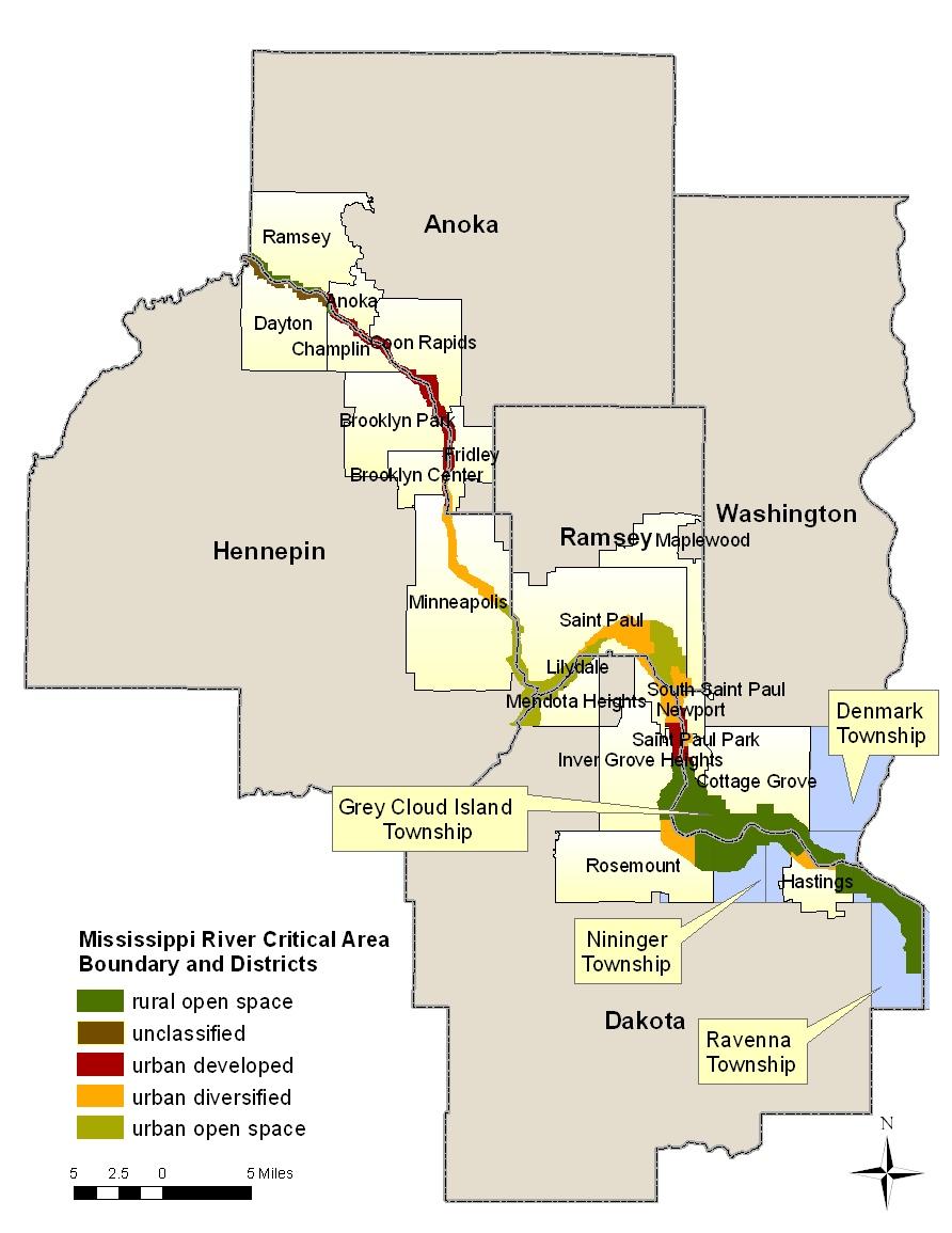 Mississippi River Corridor Critical Area