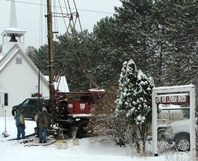 Hope Free Lutheran Church is getting a new well