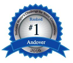 Andover Water Pledge Medal