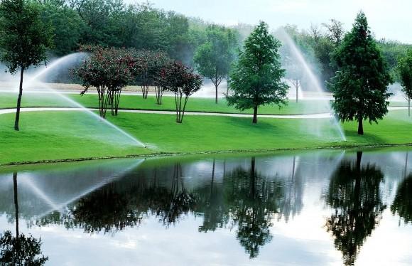 Irrigation of Parks, Golf Courses, Schools, etc.